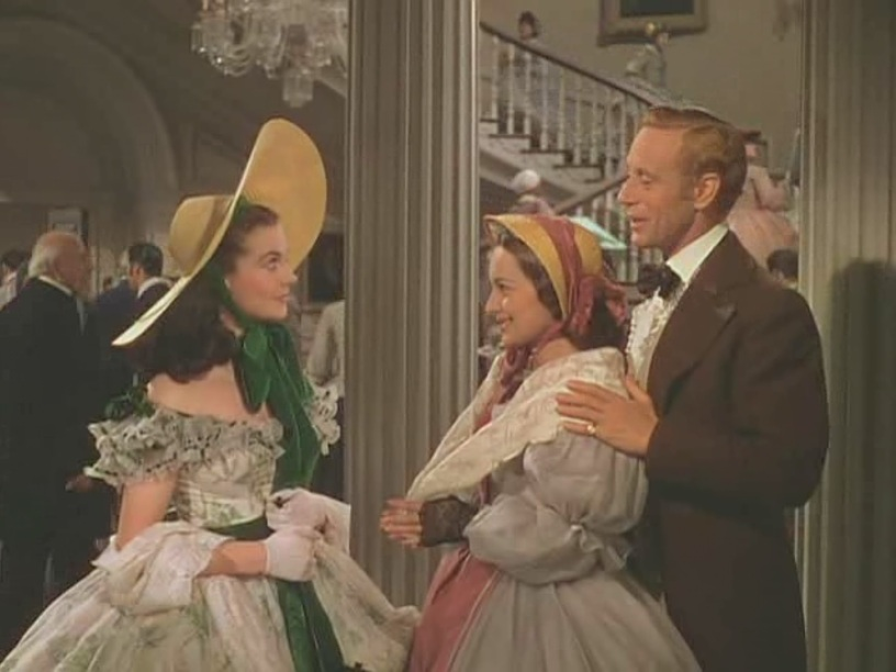 Vivien Leigh, Olivia de Havilland, Leslie Howard