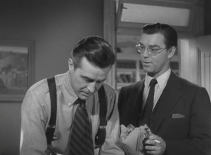 Ray Milland and Phillip Terry